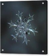 Snowflake Photo - Starlight II Acrylic Print by Alexey Kljatov