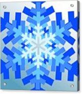 Snowflake Pile Acrylic Print