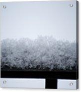Snowflakes Chill The Iron Acrylic Print