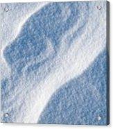 Snowforms 2 Acrylic Print