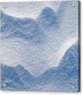 Snowforms 3 Acrylic Print
