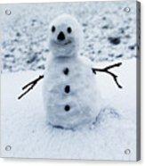 Snowman 1 Acrylic Print