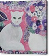 Snow's Garden Acrylic Print