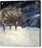 Snowstorm Acrylic Print