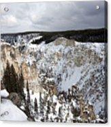 Snowy Canyon Acrylic Print