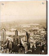 Snowy Central Park New York City Photograph Acrylic Print