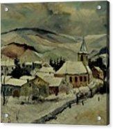 Snowy Landscape 780121 Acrylic Print