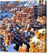 Snowy Overlook Acrylic Print