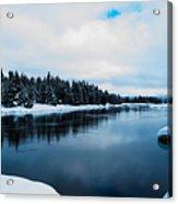Snowy River Banks Acrylic Print