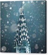 Snowy Spires Acrylic Print