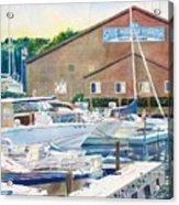 Snug Harbor II Acrylic Print