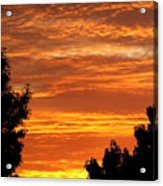 So Cal Sunset Acrylic Print