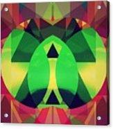 So High On Colors Acrylic Print