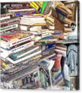 So Many Books To Read Acrylic Print