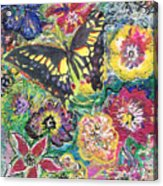 So Many Flowers So Little Time Acrylic Print