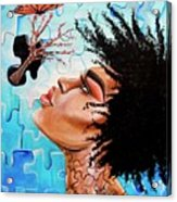 So Much more to me that you just cant See Acrylic Print