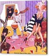 Soap Scene #20 Galleria Symbiosis Acrylic Print