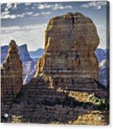 Soaring Red Rock Monoliths Acrylic Print