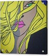 Sobe Blonde Acrylic Print