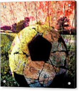 Soccer Art Acrylic Print