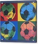 Soccer Balls Acrylic Print
