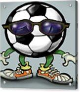 Soccer Cool Acrylic Print