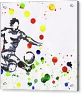 Soccer Player In Action Acrylic Print