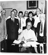 Social Security Act, 1935 Acrylic Print
