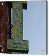 Society Hill Hotel Bar Sign Acrylic Print