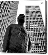 Society Man Acrylic Print