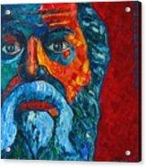 Socrates Look Acrylic Print