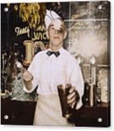 Soda Jerk, 1939 Acrylic Print