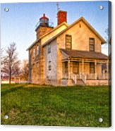 Sodus Point Lighthouse And Museum Acrylic Print