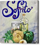 Sofrito Acrylic Print