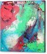 Soft Abstract Acrylic Print