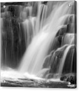 Soft Clare Glen's Waterfall Ireland Acrylic Print