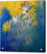 Soft-flowers Acrylic Print
