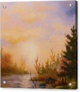 Soft Landscape Acrylic Print