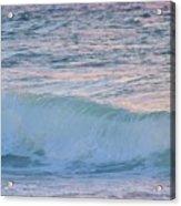 Soft Oceans Breeze  Acrylic Print