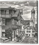 Soft Village Image Acrylic Print
