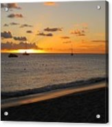 Soft Warm Quiet Sunset Acrylic Print