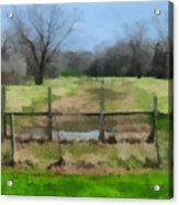 Soggy Texas Bayou Acrylic Print