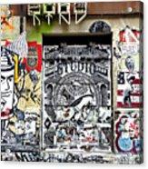 Soho Wall Acrylic Print