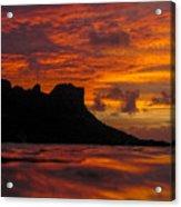 Sokeh's Rock Sunset Acrylic Print