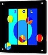 Solar Activity Acrylic Print