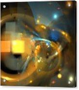 Solar Blue Stars Acrylic Print