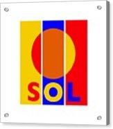 Solar Acrylic Print