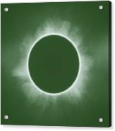 Solar Eclipse In Forest Color Acrylic Print