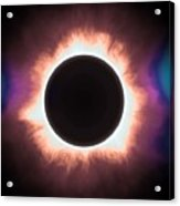 Solar Eclipse In Infrared 2 Acrylic Print