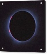 Solar Eclipse In Totality 4 Acrylic Print